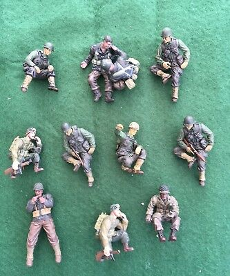 Lot 15 - Forces of Valor 1/32 American figures
