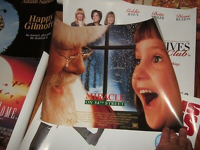 Genuine Vintage 1980s FILM POSTERS. JOB LOT. 19. Never displayed. Very Good Cond