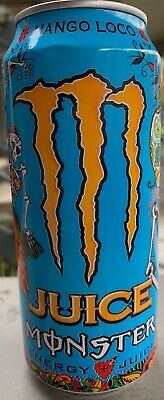 New Sealed Mango Loco Monster Energy-Juice 16-Ounce Cans Free Worldwide Ship
