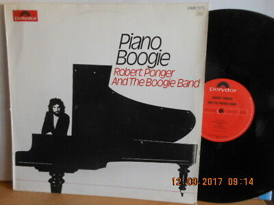 "12""LP ROBERT PONGER And The BOOGIE BAND - Piano Boogie"
