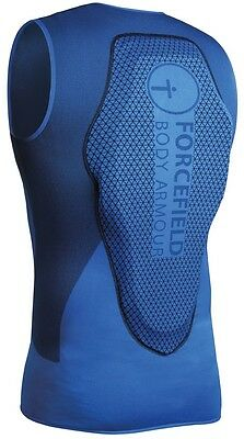 Forcefield Mons Vest Body Armour, M, Blue