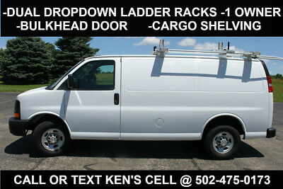 2017 Chevrolet Express Express 2500 2017 Chevy Express 2500 w/ Dual Drop Down Ladder Racks & Cargo Shelving