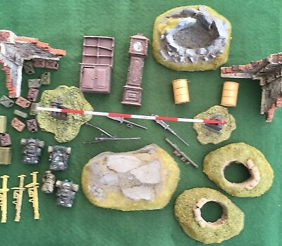 Lot 16 - Forces of Valor 1/32 scenery & accessories