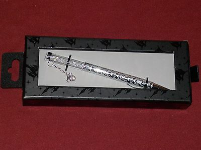 Authentic Disney Parks Mickey Mouse Executive Pen with Crystal Charm New in Box