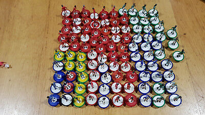 Bag of SUBBUTEO L/W PLAYERS Job Lot of 100 mixed players. Many clubs / codes. #2
