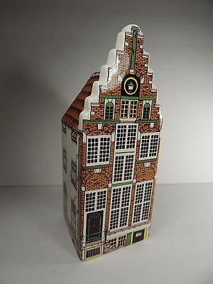 Polychroom Dutch Ceramic Miniature Canal House Hand Painted Made in Holland. #6