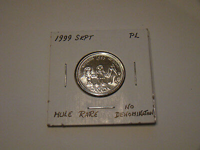 1999 Canada 25 Cent September Mule