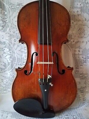 Old Antique Violin  ,full Size Petrus Guarnerius Lable