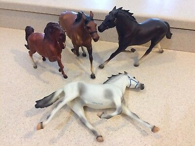 Breyer Traditional Lot --- 3 Pacers and a Sherman Morgan