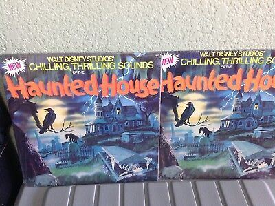 (2)  New Sealed Disneyland Chilling Thrilling Haunted Mansion House Sounds