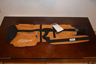 New Titleist Premium Limited Edition Gold Carry Golf Bag