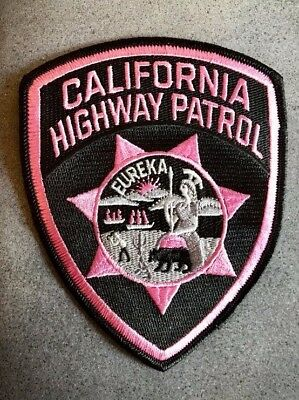 Chp Breast Cancer Police Patch