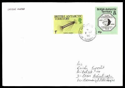 Mayfairstamps British Antarctic Territory 1990 cover Rothera Cancel With IGY Iss