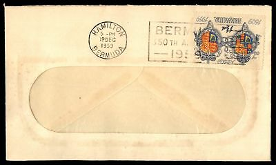 Mayfairstamps Bermuda 1959 Cover Medical Associates  1 1/2d Arms Single Franking