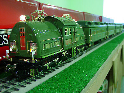 Lionel Classic Std gauge Green State Set with all coaches
