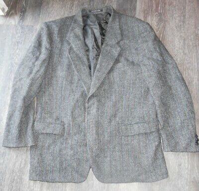 Vintage Harris Tweed Scottish Wool Sports Blazer Jacket Eaton L