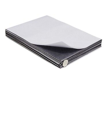 Self Adhesive Magnetic Sheets 8.5 x 11 inches - 30 mil thick - Qty:25