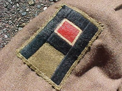 ORIGINAL WWII US 1st / 3rd ARMY ENGINEER IKE JACKET / CAP / SHIRT / TIE NAMED