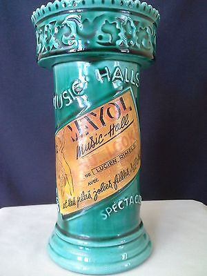 Vintage Mayol Music Hall Alcohol Bottle Made in France 1930's