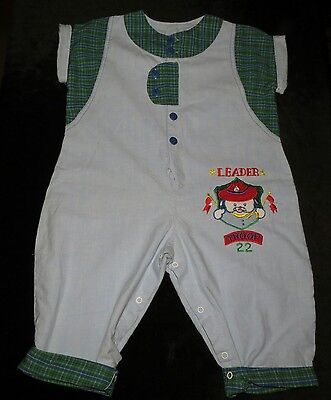 Sweet Vintage Tawil Associates Boy's One-Piece One-Piece Coverall Romper 24 M
