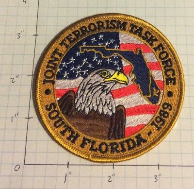 FBI South Florida Joint Terrorism Task Force Color