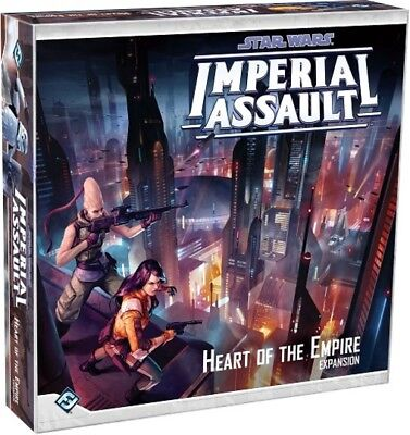 Star Wars Imperial Assault Heart of the Empire | Fantasy Flight Games - New Game