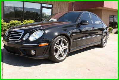 2008 Mercedes-Benz E-Class E63 AMG V8 ONE OWNER FLORIDA NO RESERVE! 2008 MERCEDES BENZ E63 AMG V8 ONE OWNER FLORIDA CARFAX NO RESERVE!