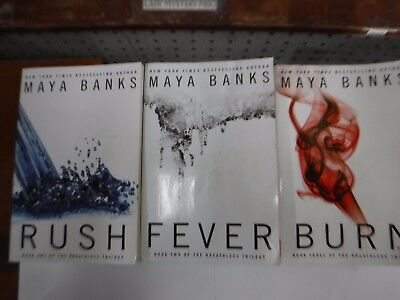 Lot Of 3 Maya Banks Erotic Novels