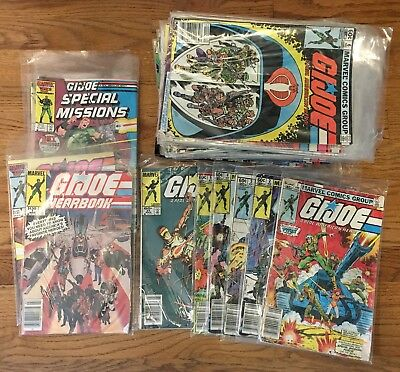 G.I.Joe: A Real American Hero Comics 1-73, Special Missions 1-5, Yearbook 1+3