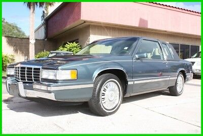 1993 Cadillac DeVille COUPE 4.9 IMMACULATE CARFAX FLORIDA NO RESERVE! 1993 CADILLAC DEVILLE COUPE ONE OWNER 4.9 IMMACULATE FLORIDA NO RESERVE!