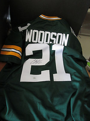 Charles Woodson Green Bay Packers Signed Autographed Jersey With Coa