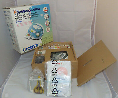 Brother Applique Station E100 Embroidery Creator - New / Unused (Open Box)