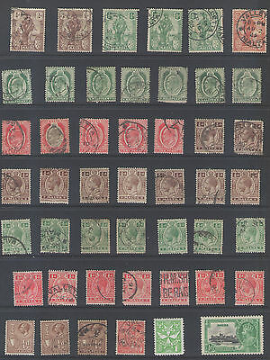 Stamps  Malta  47Pc Lot
