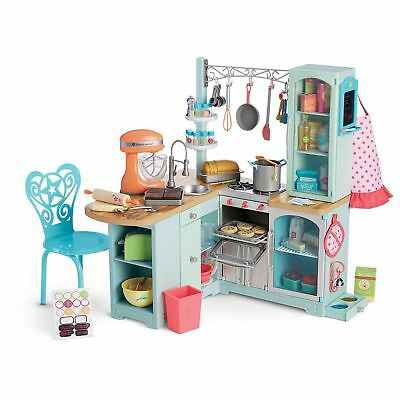 American Girl Doll Gourmet Kitchen Set Complete NEW!!