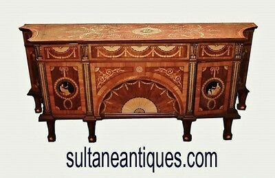 In 8 weeks Majestic Large marquetry Victorian sideboard