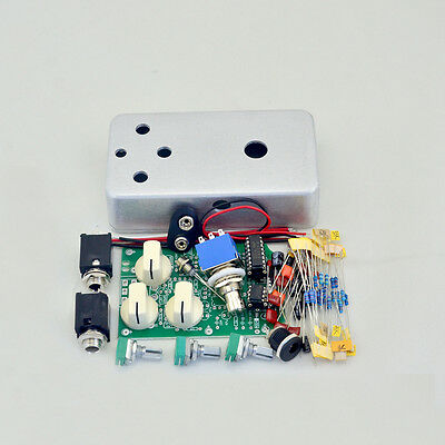 DIY Delay Guitar Effect Pedal All Kit Delay-1 With1590B And 3PDT 9PIN Switch