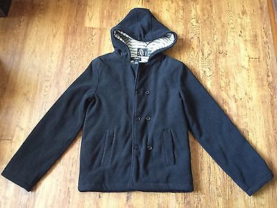 ** Boys Urban Pumpkin Patch Hooded Polar Fleece Padded Coat Size 14 **