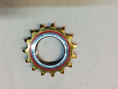 """Euro Asia 1/8"""" 15 Tooth Track Cog Gold Medal Pro"""