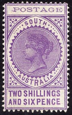 South Australia 1903 two shillings and sixpence violet 'long Tom', SG 276a, mint