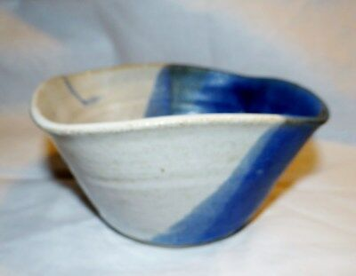 Vintage Estate Newcomb College Instructors Pottery Bowl Marked S