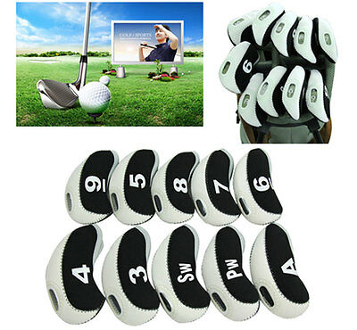 10x White and Black Neoprene Window Top Iron Head Covers Free Delivery Included