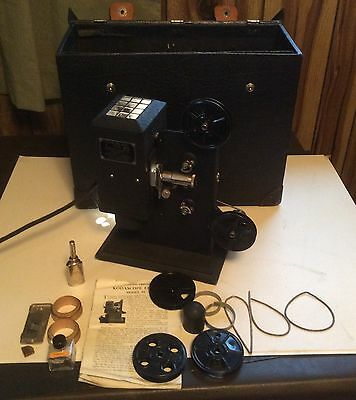 Antique Eastman Kodak Kodascope Eight Model 50 8mm Projector Tested and Works