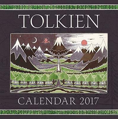 Tolkien J. R. R. (Art)/ Lee...-Tolkien 2017 Calendar  (US IMPORT)  ACC NEW