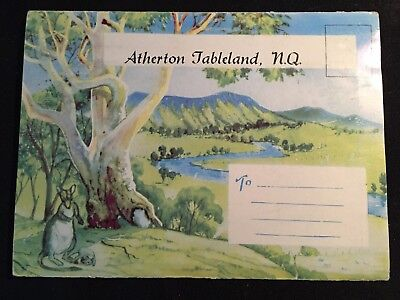 Atherton Tableland North Queensland Foldout Booklet Of 18 Colourised Photos