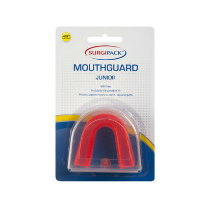 Surgipack Mint Flavoured Mouthguard Red - Junior