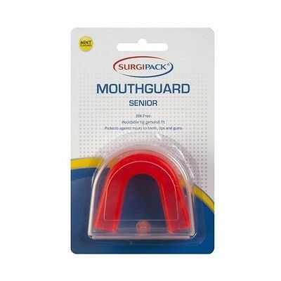 Surgipack Mint Flavoured Mouthguard Red - Senior