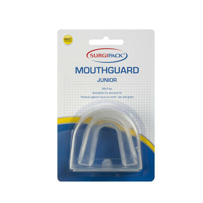Surgipack Mint Flavoured Mouthguard Clear - Junior