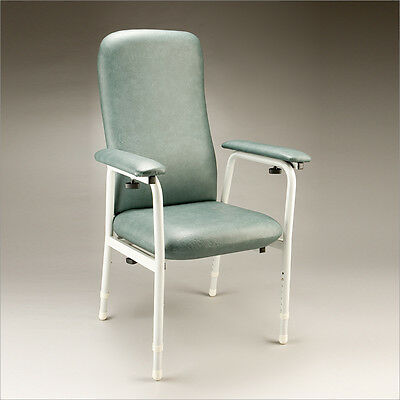 Cq Euro High Back Orthopaedic  Chair Reinforced Steel Frame Adjustable Height &