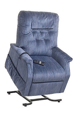 Cq Capri Chair Power Lift & Recline Armchair Padded Synchronised  Legrest  Head
