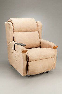 Cq Airwing Chair Power Lift & Recline Armchair Airbag System In Backrest, Seat A
